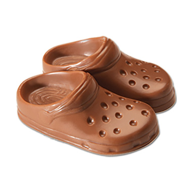 Milk Chocolate Crocs