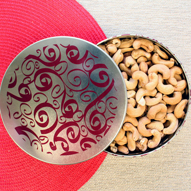 Whole Jumbo Cashews - Father's Day Tin
