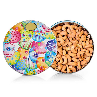 Whole Jumbo Cashews - Easter Tin