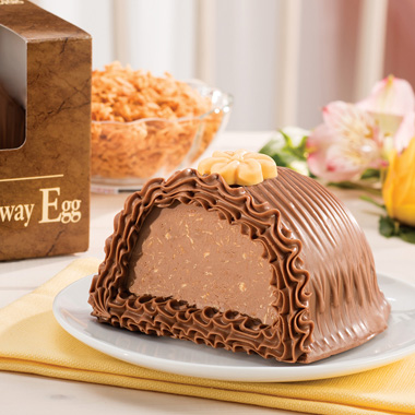 Toasted Coconut Meltaway Egg