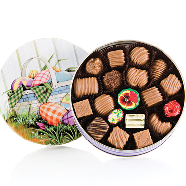 Chocolate Assortment Easter Tin
