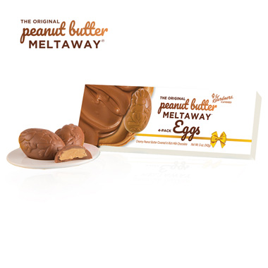 4 Pack Original Peanut Butter Meltaway® Teaser Egg Box